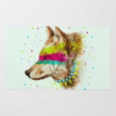 Cherokee Wolf II Rug