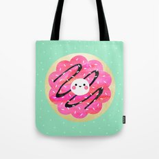 Little Cookie / Turquoise Tote Bag