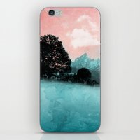 BLUE MOUNTAINS iPhone & iPod Skin