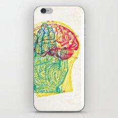 Hand and Brain iPhone & iPod Skin