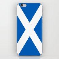 Flag Of Scotland - High … iPhone & iPod Skin