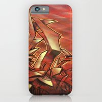 iPhone & iPod Case featuring Deep of Red by squadcore