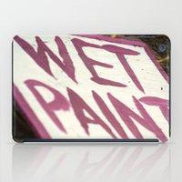Wet Paint iPad Case
