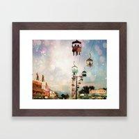 A Carnival In The Sky IV Framed Art Print