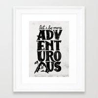 MORE ADVENTUROUS II Framed Art Print