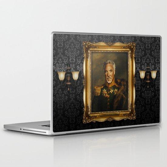 Sir Tom Jones OBE Laptop & iPad Skin