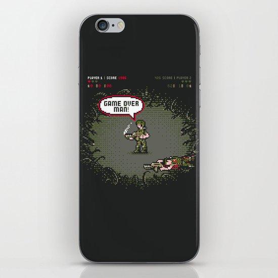 Game Over iPhone & iPod Skin