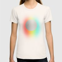 Subtle 1 Womens Fitted Tee Natural SMALL