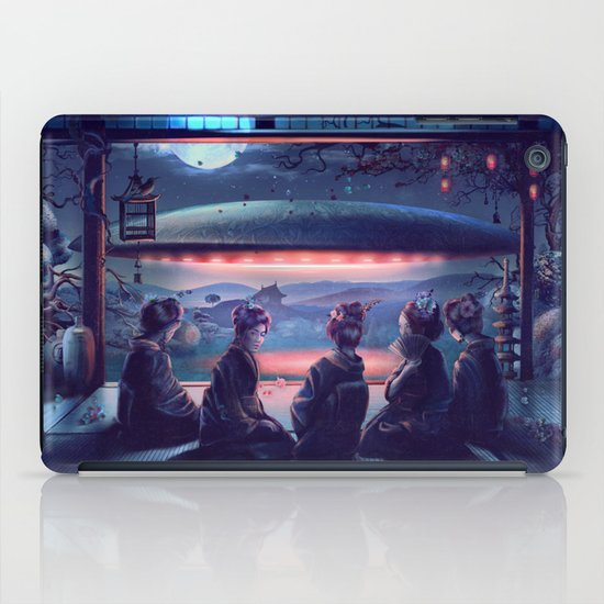 Night Guest  iPad Case