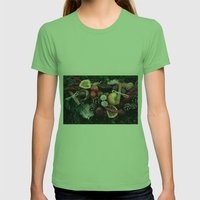 Garland Womens Fitted Tee Grass SMALL