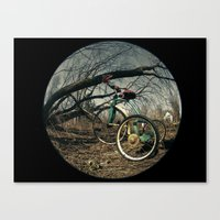 Tricycle story 4 Canvas Print
