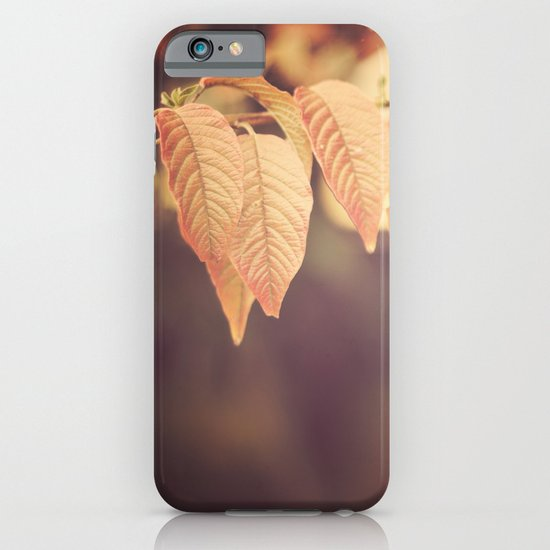 Gold autumn  iPhone & iPod Case