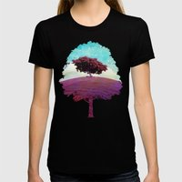 SUMMER HILL Womens Fitted Tee Black SMALL
