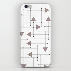 Lines & Arrows iPhone & iPod Skin