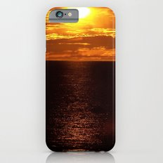 Golden Sunset on the Sea iPhone 6 Slim Case
