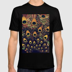 visual melody 3 SMALL Black Mens Fitted Tee