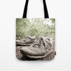 shoes for a decade, not for a year Tote Bag