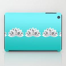 blue lotus iPad Case