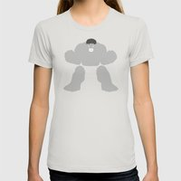 Radiology (Variant) Womens Fitted Tee Silver SMALL