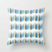 Flock Together Throw Pillow