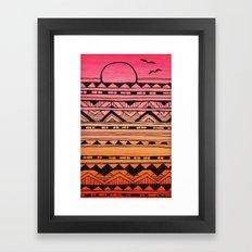 Surf Tribe Framed Art Print