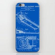 Skee Ball Patent - Blueprint iPhone & iPod Skin