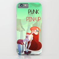 iPhone & iPod Case featuring Punk PinUp by Francesco Malin