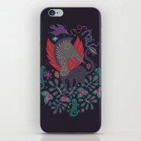 Dragon and Lizards iPhone & iPod Skin