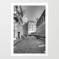 Dresdener Ansichten Art Print