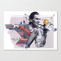 Hot Air | Collage Canvas Print