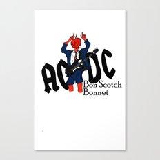 Bon Scot Canvas Print