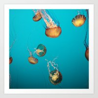 Magical Medusas Art Print