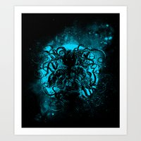 Terror From The Deep Spa… Art Print