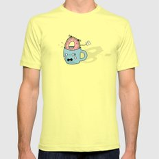 What have I done?! Mens Fitted Tee Lemon SMALL