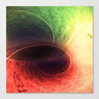 Tunnel Vision Distortion Canvas Print