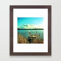 Pictures From My Homelan… Framed Art Print