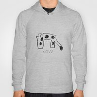 My Cow Drawing Hoody
