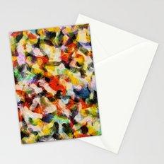 Starry halftone Stationery Cards