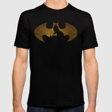 The dark man Black SMALL Mens Fitted Tee