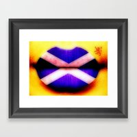 SCOTTISH KISS - 055 Framed Art Print