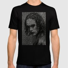 The Crow SMALL Mens Fitted Tee Black