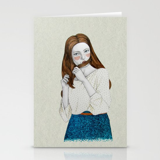 Clementina Stationery Card