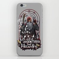 Lord Of MAgnetism And Wi… iPhone & iPod Skin