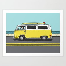 Surf Series | The Search Art Print
