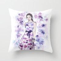 Spring fashion Throw Pillow