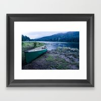 Launch Framed Art Print