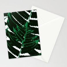 Green tropical Stationery Cards