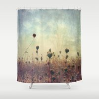 Her Mind Wandered In Bea… Shower Curtain