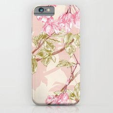 Flower Sketch iPhone 6 Slim Case