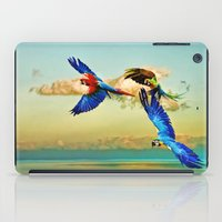 Exotic Macaws iPad Case